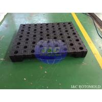 China High Precision Plastic Rotational Moulding For Strong Structure Four Way Pallets wholesale