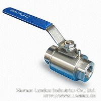 China 1 Piece Stainless Steel Ball Valve wholesale