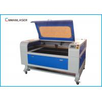 China Granite Stone Desktop 100w CO2 Laser Engeraving Machine With Water Chiller wholesale