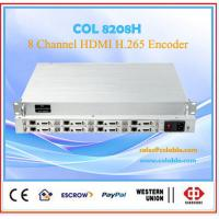 China 8CH  H.264/h.265 HDMI/Audio  iptv  Live streaming encoder COL8208H wholesale
