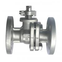 China High quality 2PC Stainless Steel Flanged Ball Valve Hot sale!!! wholesale