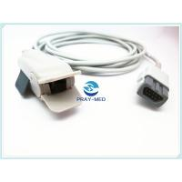 China GE Ohmeda OXY F4 MC Adult Spo2 Sensor For Patient Monitor Soft Tip Grey White Color wholesale