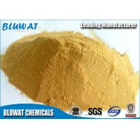 China Polymeric Ferric Sulphate for Wastewater Treatment Plant Pale Yellow Powder 19% wholesale