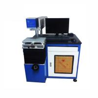 China Low Consumption Co2 Laser Marking Machine / Wood Laser Printer Machine Air Cooling 10640nm Beam Length on sale