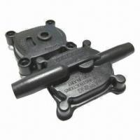 China Plastic Parts, Made of Plastic Material, High-quality and Management Control Sizes wholesale