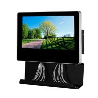 China Metal Wall Mounted Electric Mobile Phone Charging Station Digital Signage  With 21.5