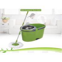 China 6.5L Capacity Flat  360 Spin Mop For Hardwood Floors With Single Bucket wholesale