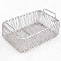 China Stainless Steel Wire Mesh Baskets For Surgical Instrument Sterilization on sale