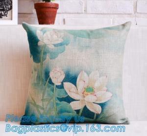China OEM design digital print 3d satin cushion cover custom cushion cover,Hot sale good quality cushion cover wholesale,vinta on sale