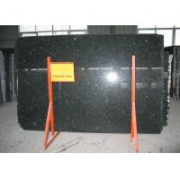 China Norway Green Granite Slabs For Counters , Emerald Pearl Granite Slab 1.0cm Thickness wholesale