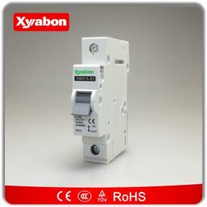 China El mejor tipo SP 6kA del disyuntor 6A 10A 16A 20A 32A 40A 50A 63A del modelo MCB de la bujía métrica del hager del OEM del precio de C wholesale