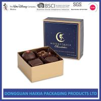 China Chocolate Decorative Gift Boxes With Lids Small Capacity For Birthday Gifts wholesale