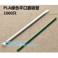 China Disposable Plastic Compostable Straw Biodegradable Flexible PLA Drinking Straw Wholesale,Eco-Friendly Biodegradable Comp wholesale