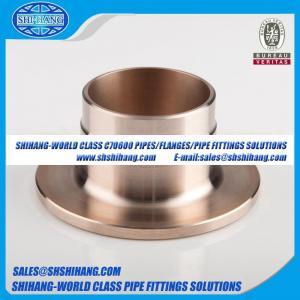 copper nickel UNS C70600 CUNI 9010 flange Inner Flange-Composite Weld Neck Flange - DIN 86037