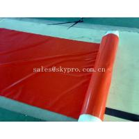China Hypalon / CSPE Rubber Sheet Roll excellent oil and weather resistance wholesale