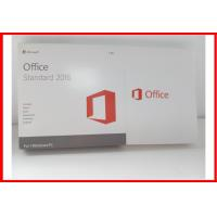 Buy cheap Genuine Microsoft Office 2016 Professional Retail Box Office 2016 Standard Dvd Retail Actiavted from wholesalers