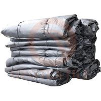 China Agriculture Geotextile Tubes Coastal Protection , High Tenacity Black Dewatering Filter Bag wholesale