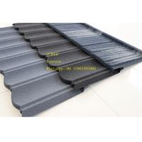 Stone Coated Metal Roof Tile / Metal Roofing Shingles Building Material ISO9001