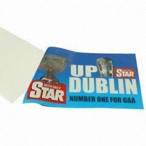 China Promotional PVC Sticker/Car Window Sticker/Car Tax Holder Sticker wholesale