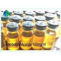 China Safest Injectable Steroids Trenbolone Acetate 100mg/Ml For Muscle Mass wholesale