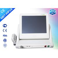 China Gray High Intensity Focused Ultrasound Hifu Machine Face Lift And Skin Tightening wholesale