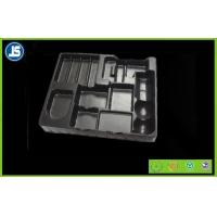 China Black Medical Plastic Tray With Embossing Printing , Food Packaging Trays wholesale