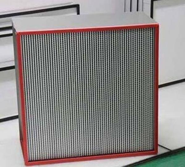 Quality Quiet High Temperature Hepa Filter For Laboratory Operating Room for sale