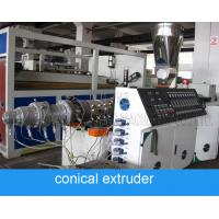 China High Speed Polycop Pipe And Pvc Pipe Extrusion Machine For Diameter 15mm 50mm wholesale