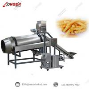 China French Fries Seasoning Machine Single-drum French Fries Flavoring Machine Industrial French Fries Seasoning Machine wholesale