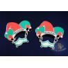 China Metal Enamel Carnival Lapel Pin Badges No Minimum Order For Football Event Eco Friendly wholesale
