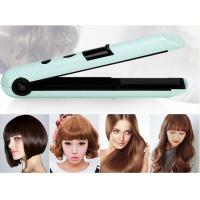 China Small 1'' Rechargeable Hair Straighteners Hair Styling Iron 20*3.4*3.8cm wholesale