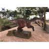 China Artificial Custom Dinosaur Garden Ornaments For Jurassic World 60HZ wholesale