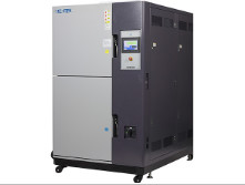Quality AC 380V Thermal Shock Chamber , Thermal Shock Equipment 300L Temperature Uniformity for sale