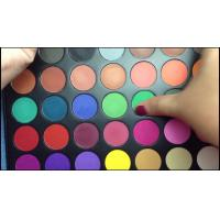 China MSDS Standard Rainbow Eyeshadow Palette 35a For Beauty Mineral Formula wholesale