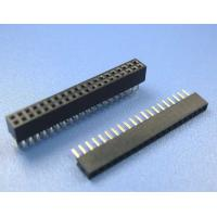 China China copy 1.27 mm pitch socket strip header female Header for LED screen single row wholesale