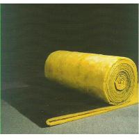 China Sound Absorption Glass Wool Blanket / Felt Roll Faced With Black Glass Tissue wholesale