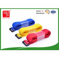 China 35mm Width 250mm Length hook and loop luggage straps , colored hook and loop strong sticky wholesale
