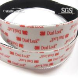 China Extra Strength Dual Lock  Tape , Self Adhesive Nylon Tape 100MM - 300MM Width on sale