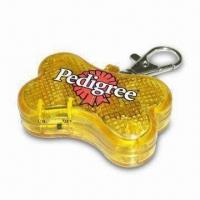 China Pet ID Tag in Trendy Design, Made of Plastic, Measures 4.5 x 2.5 x 1.5cm on sale