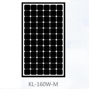 China Black Mono Mono Crystal Solar Panel 150W , Monocrystalline Solar Module For Farm wholesale