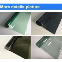 China High Transparent Car Window Film , One Sided Window Tint Film For Cars on sale