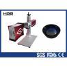 China Mopa 30W毎日の小さい部品のための携帯用色レーザーの印機械空冷 wholesale