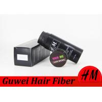 China Travel Size Instant Hair Fiber Refill , Hair Loss Powder Concealer For All Ages wholesale