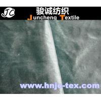 China New fabric shimmering mirco no invert fabric compound with nonwoven fabric back wholesale