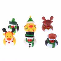 China Floating Christmas Miniature Rubber Ducks Ornament Eco - Friendly PVC Toy wholesale