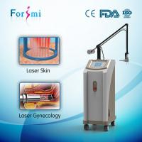China Two differnt tubes fractional co2 laser equipment on sale on sale