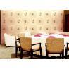 China O asiático do papel de parede do estilo chinês dos trabalhos e dos testes padrões inspirou o papel de parede para o hotel wholesale