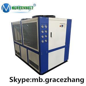 China Mgreenbelt recirculating air cooled type air cooled liquid chiller air cooled chiller wholesale