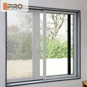 China Waterproof Anodised Aluminium Sliding Windows With Single Tempered Glass wholesale