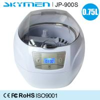 China ABS Portable Digital Dental Instrument Ultrasonic Cleaner 750ml Mini size wholesale